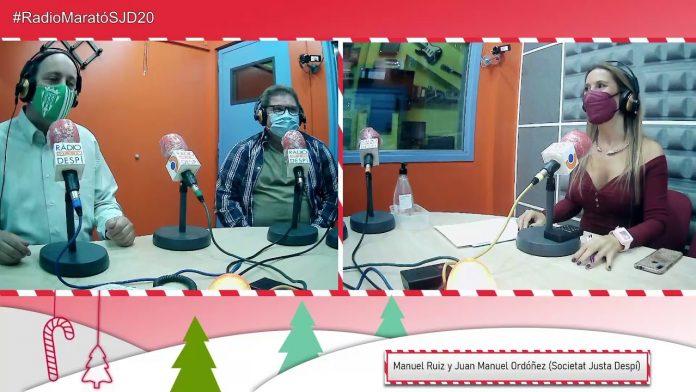 Manuel Ruiz y Juan Manuel Ordóñez - Societat Justa Despí - Ràdio Despí