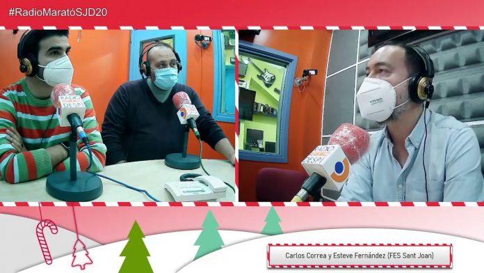 Carlos Correa i Esteve Fernández - FES Sant Joan - Ràdio Despí